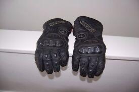motorbike gloves spada size large