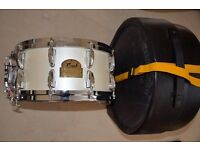 dennis chambers signature pearl snare drum in mint condition