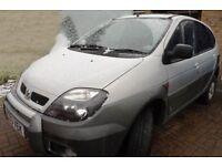 Renault Megane Scenic Rx4 - spares or repair - sold as seen