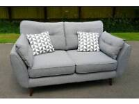 DFS French Connections sofa immaculate sofa as new zinc designer