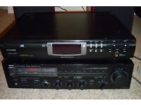 Yamaha R5 350W Amp & Philips CD 723 separate