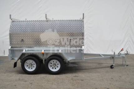 Tradesman Top Trailer - Canopy on Tandem Trailer
