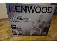 Practially New Kenwood MutltiPro FP735 1000W Food Processor/Mixer/Blender