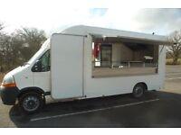 Mobile Catering Van (Renault Master 2464cc Diesel)