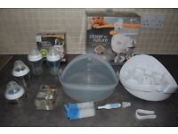 Microwave steam bottle steriliser, Tomme Tipee + EXTRAS