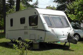 2007 Abbey Safari 495 4 berth caravan
