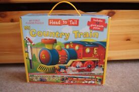 My Country Train First Floor Puzzle
