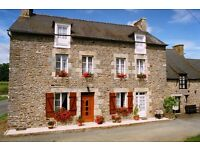 Stone house with land for sale in France near Dinan