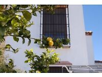 4 bed family home, trad Andalucian village, 15 mins from beach/airport 320 days sunshine per year.