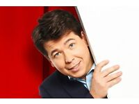 MICHAEL McINTYRE live at The Duchess Theatre. Bank Holiday Monday, 29th Aug.