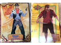 Fancy dress costumes for adult: Cowboy & Pirate
