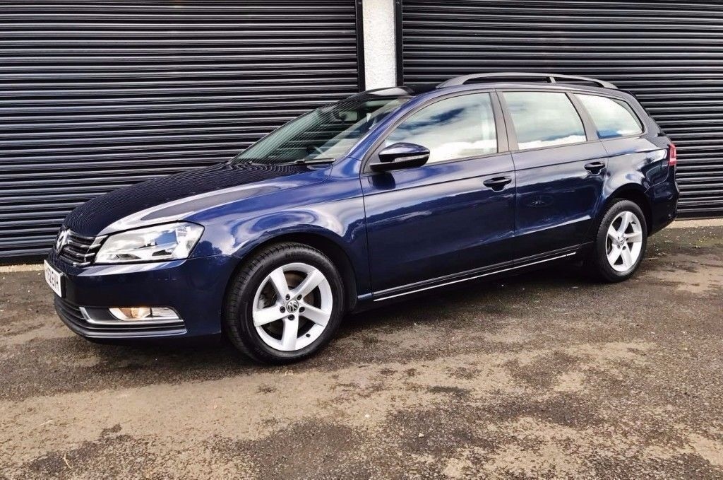 2012 VOLKSWAGEN PASSAT ESTATE 1.6 TDI 105 S BLUEMOTION *LOW MILES* NOT A4 A6 AVANT MONDEO C220 320D