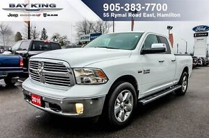 2016 Ram 1500 BIG HORN, 4X4, TONNEAU, BACKUP CAM, SIDE STEPS