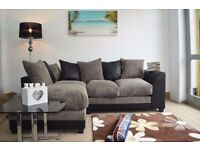 🔥💥 Same Day Cash On Delivery 💥🔥 BRAND NEW Italian Jumbo Cord🔥 Byron Corner or 3 + 2 Seater Sofa
