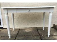 ASPACE DRESSING TABLE DESK WHITE ROOM VINTAGE DESIGN VGC