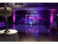 NEW**** RGB JET BLACK STARLIT DANCE FLOOR - FROM £350.00