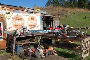 LOOKING TO BUY USED CHAINSAWS VINTAGE CHAINSAWS