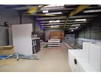 FANTASTIC WAREHOUSE MEZZANINE available for storage or studio space | Limehouse, London (E14)