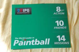 paintballing tickets