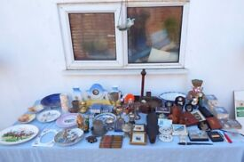 Huge mixed lot of 60 vintage and antique items at a very low clearance price