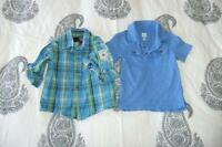 Timberland shirt, Old Navy Hawaii Blue & Little Rebel Navy Polo