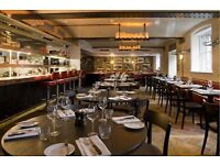 Experienced Waiters - Award-winning Venue/Renowned Pub Group - Barbican/Moorgate
