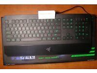 1 WEEK USED Razer Deathstalker Gaming Keyboard 2016 Edition