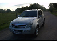 Ssangyong Rexton 2.7xdi diesel 2005 long mot Expires: 18 April 2017