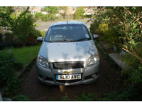Chevrolet Aveo 1.4 hatchback petrol 2010 MOT to March 2019 for repair or local runabout