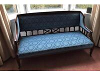 Antique, wooden bench from 1900's