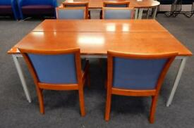 Meeting table and 4 chairs