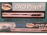 LG DVD Player DV8731 VERY Slim & Stylish ONLY 39mm THIN With Composite Cables WORKING! MUST GO! £10!