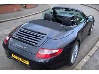 2008 Porsche C4 Convertible - 29k - Manual - Black - Very reluctant sale