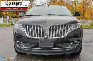 2011 Lincoln MKX LEATHER l NEW BRAKES/ NAV l BLIND SPOT SENSORS  Kitchener / Waterloo Kitchener Area image 3
