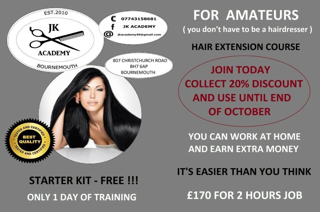 Hair Extension Course In Bournemouth Dorset Gumtree