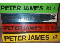 Assorted Peter James Paperback Books