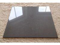 12 x RAK Lounge porcelain tiles 600 x 600 mm polished dark grey