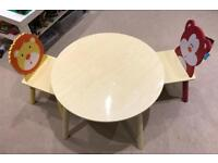 Children's table and chairs set. Really good condition.