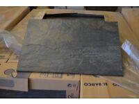 30X45 CERAMIC SLATE-EFFECT WALL FLOOR TILES 12M2