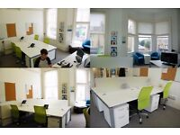 Desk to rent – Hove – from £140 per month