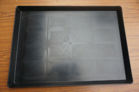 """Q9"" Heavy Duty Replacement Dog Cage / Grate Tray(s) - to suit all standard cages / grates"
