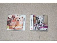 Nintendo Ds Game bundle: Nintendogs+cats, sim animals and Dolphin islands