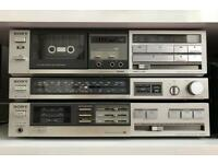 Sony stereo HI-FI system from 80's