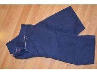 mens KANGOL shorts navy blue (size large)