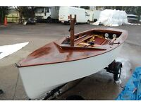 GP 14 Sailing dinghy with trailer perfect for the summer .