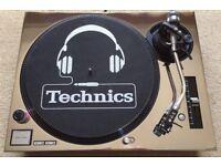 Technics SL-1210 MK3 M3D Turntable With Custom Chrome Cover