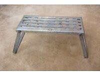 Metal Bi fold Step