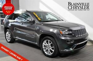 2014 Jeep Grand Cherokee Summit-cuir-Navigation