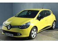 Renault Clio DYNAMIQUE MEDIANAV ENERGY DCI ECO2 S/S (yellow) 2014-12-02