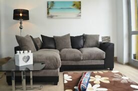**14-DAY MONEY BACK GUARANTEE!** Benson Corner Sofa Suite or 3 and 2 Set - SAME/NEXT DAY DELIVERY!